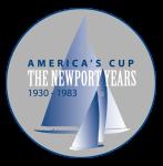 America's Cup Newport Years Exhibit logo by SallyAnne Santos