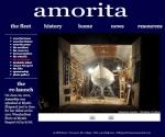 Amorita website design by Windlass Creative
