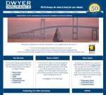 Dwyer Insurance website design by Windlass Creative