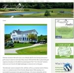 Fenner Hill Golf Club website by Windlass Creative