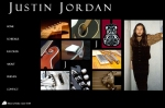 Justin Jordan, Musician website designed by Windlass Creative