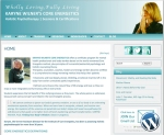 Karyne Wilner Core Energetics website by Windlass Creative