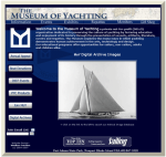 Museum of Yachting website designed by Windlass Creative