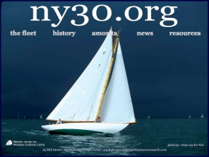 NY-30 Class website designed by Windlass Creative