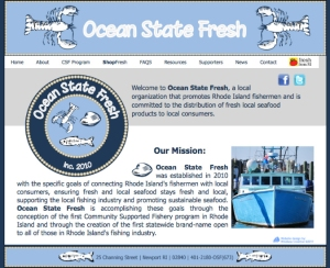 Ocean State Fresh website designed by Windlass Creative