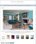 Swift Morris Interiors website by Windlass Creative