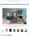Swift Morris Interiors website by Windlass Creative