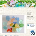 Tropical Sea Glass website design by Windlass Creative