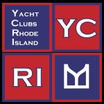 Yacht Clubs of Rhode Island Exhibit logo by SallyAnne Santos