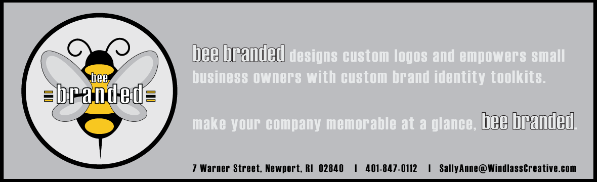 bee branded designs custom logos and empowers small business owners with custom brand identity toolkits.