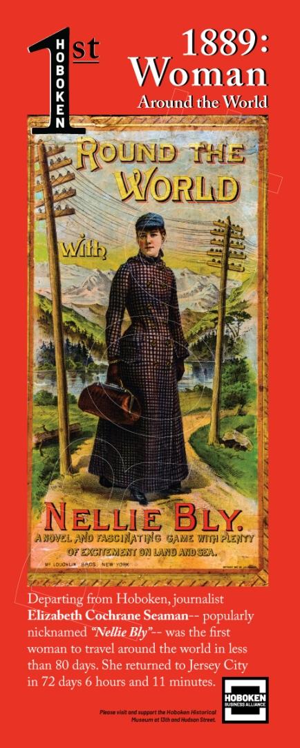 1st Woman Around The World 1889