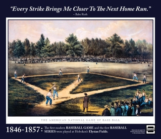"""""""Every Strike Brings Me Closer To the Next Home Run."""" ~ Babe Ruth"""