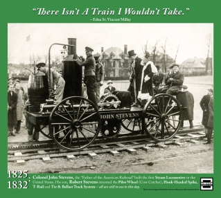 """""""There Isn't A Train I Wouldn't Take."""" ~ Edna St. Vincent Millay"""